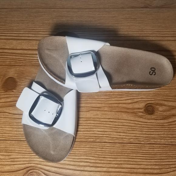 SO slip on sandal medium 7-8